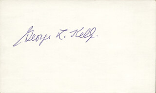 GEORGE L. KELLY - AUTOGRAPH