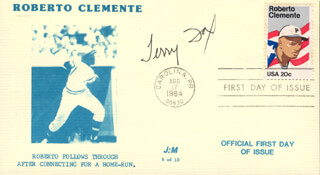 TERRY FOX - FIRST DAY COVER SIGNED