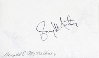 JERRY McNERTNEY - AUTOGRAPH