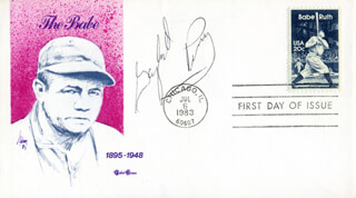 GAYLORD PERRY - FIRST DAY COVER SIGNED