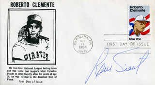 LUIS TIANT JR. - FIRST DAY COVER SIGNED