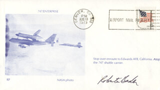 Autographs: ROBERTA BONDAR - COMMEMORATIVE ENVELOPE SIGNED