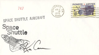 COLONEL KENNETH D. CAMERON - COMMEMORATIVE ENVELOPE SIGNED