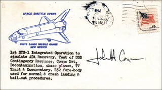 COLONEL JOHN H. CASPER - COMMEMORATIVE ENVELOPE SIGNED