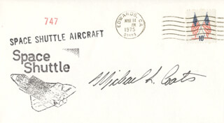 CAPTAIN MICHAEL L. COATS - COMMEMORATIVE ENVELOPE SIGNED