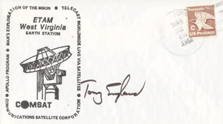 ANTHONY ENGLAND - COMMEMORATIVE ENVELOPE SIGNED