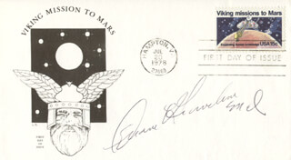 COLONEL DUANE E. GRAVELINE - FIRST DAY COVER SIGNED