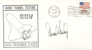 STEVEN A. HAWLEY - COMMEMORATIVE ENVELOPE SIGNED