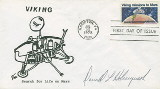 DONALD L. HOLMQUEST - FIRST DAY COVER SIGNED