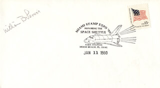 WILLIAM B. LENOIR - COMMEMORATIVE ENVELOPE SIGNED
