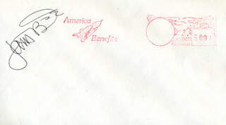 CAPTAIN JON A. McBRIDE - ENVELOPE SIGNED