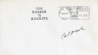 COLONEL CARL J. MEADE - COMMEMORATIVE ENVELOPE SIGNED
