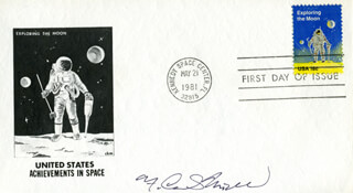F. CURTIS MICHEL - FIRST DAY COVER SIGNED