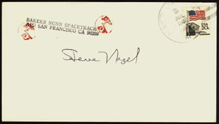 COLONEL STEVE NAGEL - ENVELOPE SIGNED CIRCA 1982