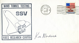 KEN NORDSIECK - COMMEMORATIVE ENVELOPE SIGNED