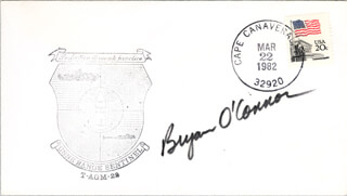 COLONEL BRYAN O'CONNOR - COMMEMORATIVE ENVELOPE SIGNED