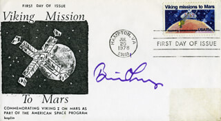 BRIAN O'LEARY - FIRST DAY COVER SIGNED