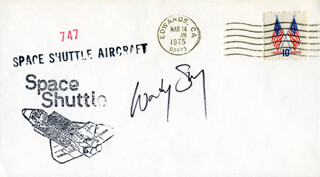 COLONEL SHERWOOD C. WOODY SPRING - COMMEMORATIVE ENVELOPE SIGNED