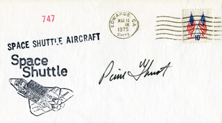 COMMANDER PIERRE J. THUOT - COMMEMORATIVE ENVELOPE SIGNED
