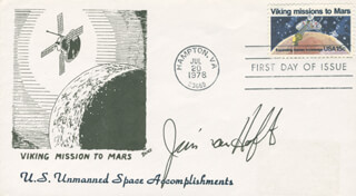 JAMES D. A. VAN HOFTEN - COMMEMORATIVE ENVELOPE SIGNED