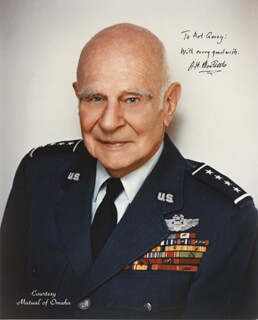 BRIGADIER GENERAL JAMES H. JIMMY DOOLITTLE - AUTOGRAPHED INSCRIBED PHOTOGRAPH