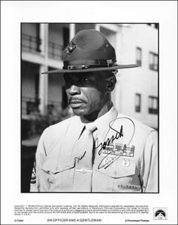 LOUIS GOSSETT JR. - AUTOGRAPHED SIGNED PHOTOGRAPH