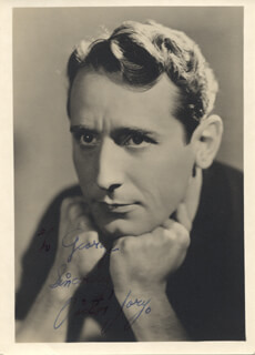 VICTOR JORY - AUTOGRAPHED INSCRIBED PHOTOGRAPH CIRCA 1937