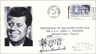 MARVIN HAMLISCH - AUTOGRAPH MUSICAL QUOTATION SIGNED 12/09/1964