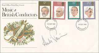 ANDRE PREVIN - COMMEMORATIVE ENVELOPE SIGNED