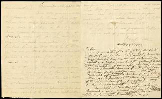 Autographs: PRESIDENT ANDREW JACKSON - AUTOGRAPH LETTER SIGNED 10/23/1826 CO-SIGNED BY: JOHN H. EATON