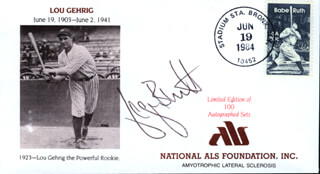 GEORGE H. BRETT - SPECIAL COVER SIGNED