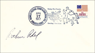 ARTHUR ADEL - SPECIAL COVER SIGNED