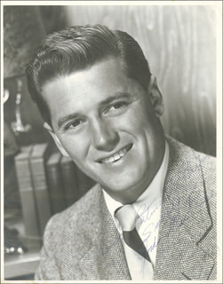 GORDON MacRAE - AUTOGRAPHED INSCRIBED PHOTOGRAPH