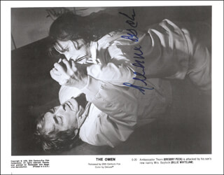 GREGORY PECK - AUTOGRAPHED SIGNED PHOTOGRAPH CIRCA 1976