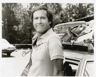 CHEVY CHASE - AUTOGRAPHED SIGNED PHOTOGRAPH