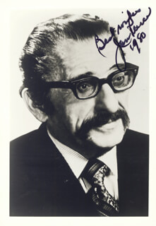 JAN PEERCE - AUTOGRAPHED SIGNED PHOTOGRAPH 1980