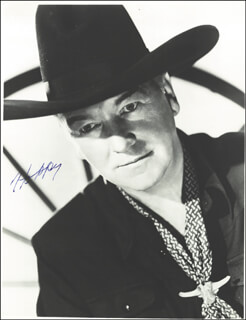 WILLIAM HOPPY BOYD - AUTOGRAPHED SIGNED PHOTOGRAPH