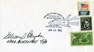LT. COLONEL ELLISON S. EL ONIZUKA - SPECIAL COVER SIGNED 04/01/1980
