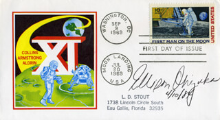 LT. COLONEL ELLISON S. EL ONIZUKA - FIRST DAY COVER SIGNED 04/10/1984