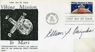 LT. COLONEL ELLISON S. EL ONIZUKA - FIRST DAY COVER SIGNED