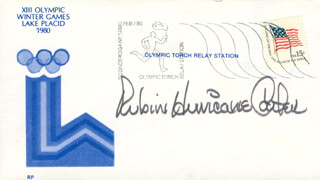 RUBIN HURRICANE CARTER - COMMEMORATIVE ENVELOPE SIGNED