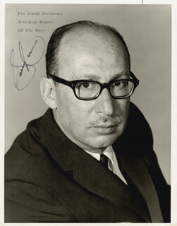 SAMMY CAHN - AUTOGRAPHED SIGNED PHOTOGRAPH