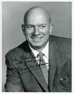 JAMES JIMMY VAN HEUSEN - AUTOGRAPHED INSCRIBED PHOTOGRAPH