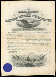 PRESIDENT WILLIAM McKINLEY - MILITARY APPOINTMENT SIGNED 12/24/1898 CO-SIGNED BY: LT. GENERAL HENRY C. CORBIN, RUSSELL A. ALGER