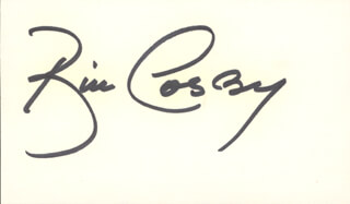 Autographs: BILL COSBY - SIGNATURE(S)