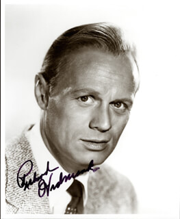 RICHARD WIDMARK - AUTOGRAPHED SIGNED PHOTOGRAPH