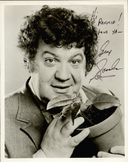 GEORGE SAVALAS - AUTOGRAPHED SIGNED PHOTOGRAPH