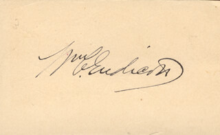 Autographs: WILLIAM C. ENDICOTT - SIGNATURE(S)