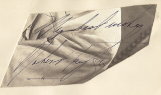 ROBERT TAYLOR - AUTOGRAPH SENTIMENT SIGNED