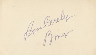 BING CROSBY - AUTOGRAPH SENTIMENT SIGNED